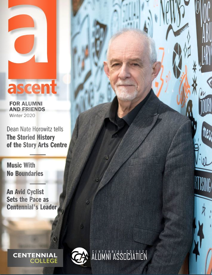 a magazine cover